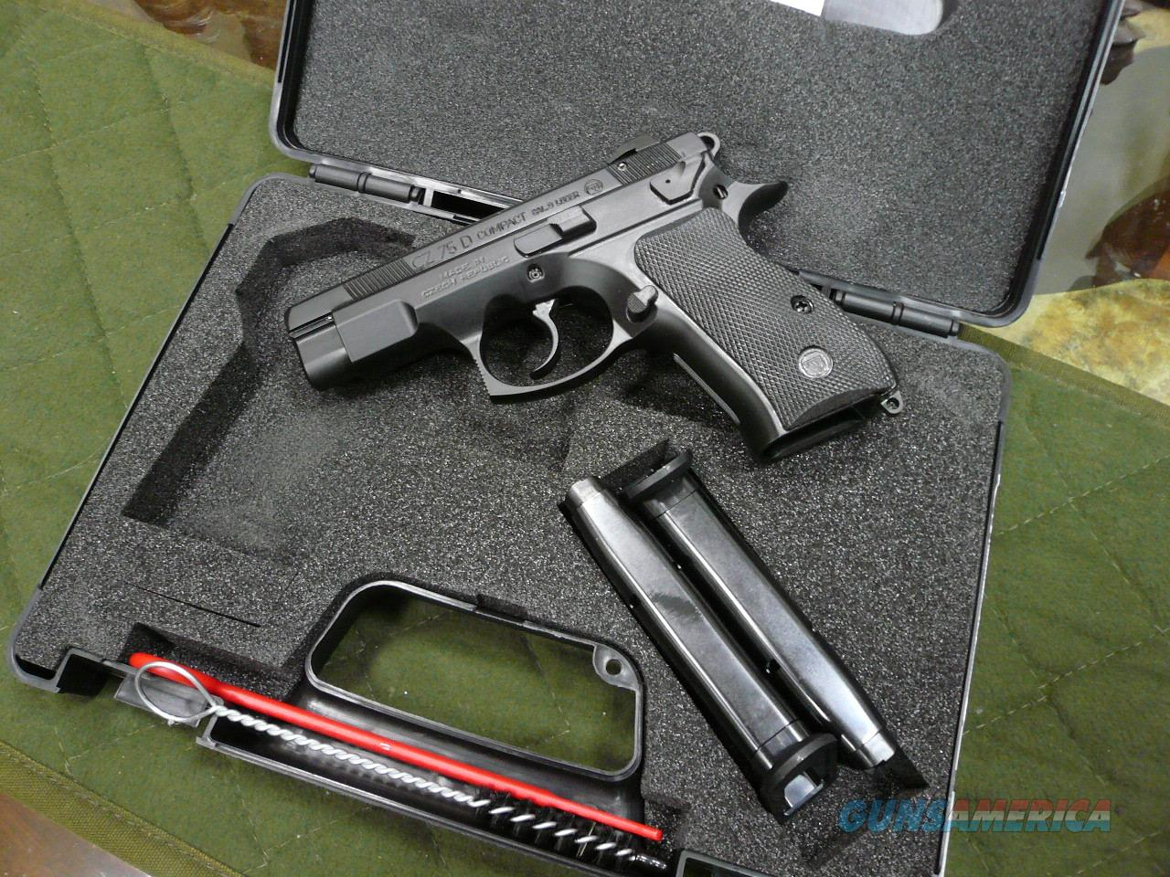 CZ75 D-COMPACT/PCR 9mm.NIB  Guns > Pistols > CZ Pistols