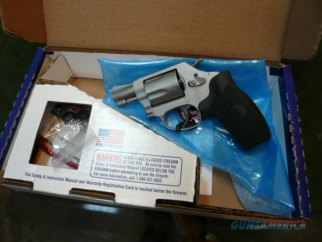 637-2 w/laser grip 38spl+p  Guns > Pistols > Smith & Wesson Revolvers > Full Frame Revolver