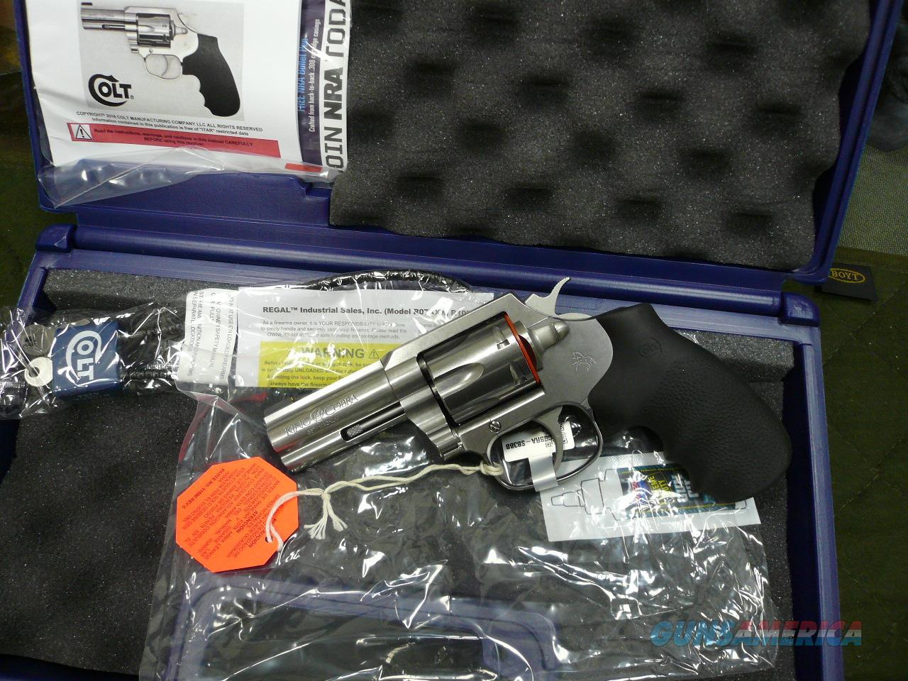 "KING COBRA 3"" 357MAG NIB (OK FOR CA)  Guns > Pistols > Colt Double Action Revolvers- Modern"
