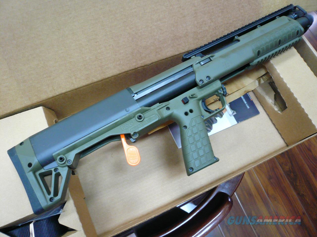 KSG-14RDS BLK or OD NIB  Guns > Shotguns > Kel-Tec Shotguns > KSG
