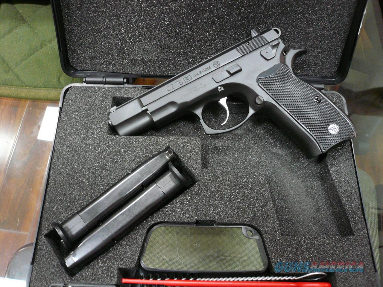 75 BD 9mm NIB  Guns > Pistols > CZ Pistols