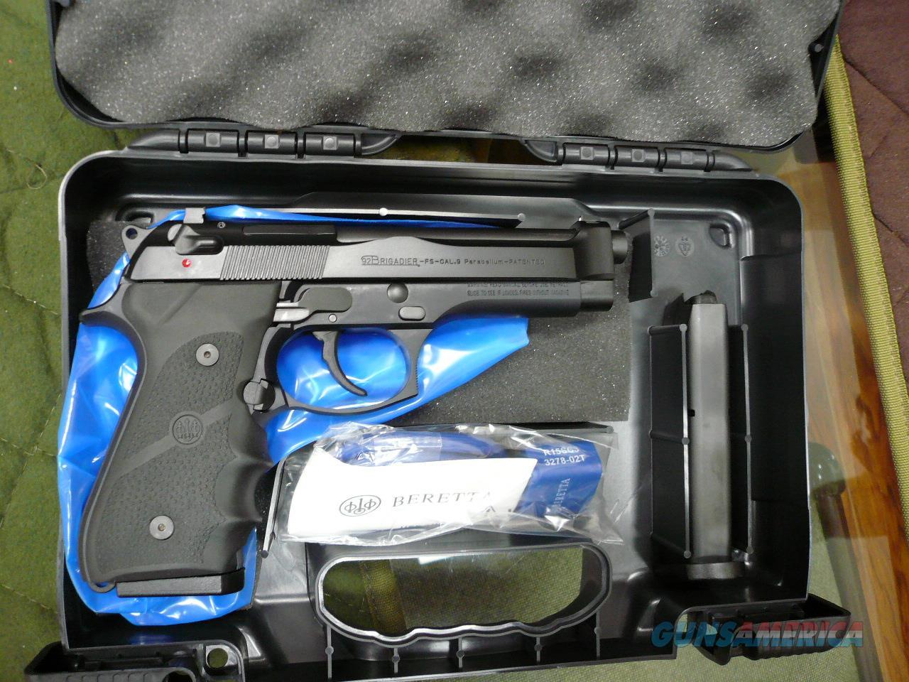 BERETTA 92FS/BRIGADIER,9MM NIB  Guns > Pistols > Beretta Pistols > Model 92 Series