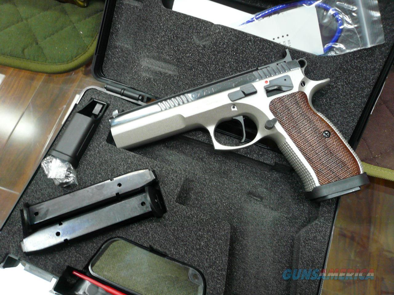 CZ75/TACTICAL SPORT 9MM NIB  Guns > Pistols > CZ Pistols