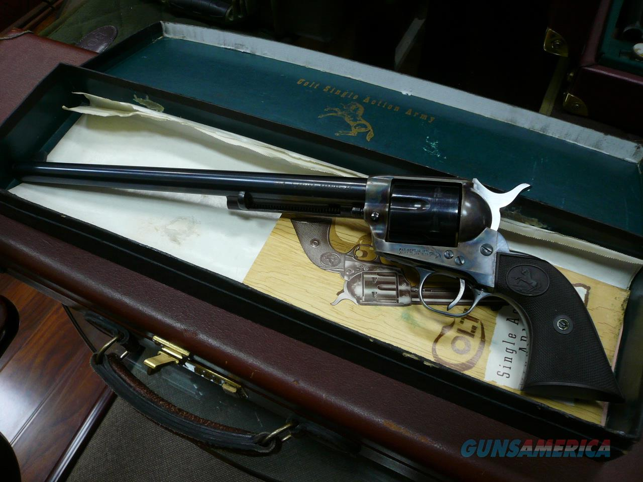 SAA BUNTLINE-SPECIAL 45LC (1957 with original black box)  Guns > Pistols > Colt Single Action Revolvers - 2nd Gen.