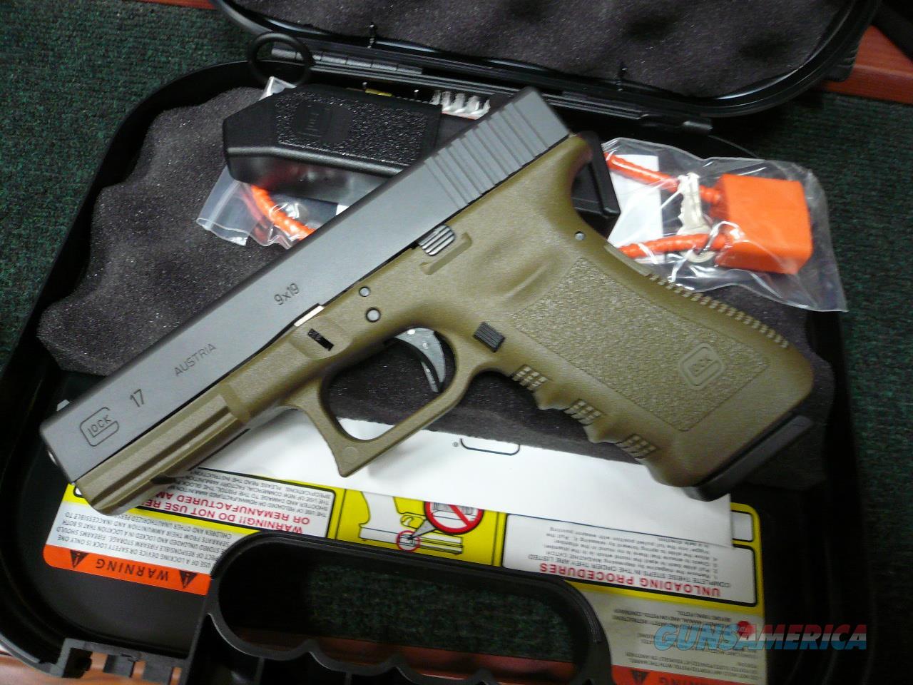 17-OD NIB  Guns > Pistols > Glock Pistols > 17