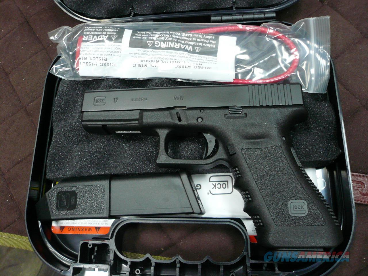 17 9mm NIB  Guns > Pistols > Glock Pistols > 17