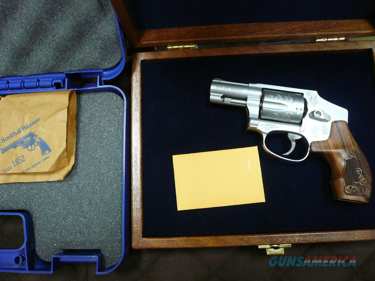 "640-1 Engraved 2 1/8""bbl 357mag,NIB  Guns > Pistols > Smith & Wesson Revolvers > Full Frame Revolver"