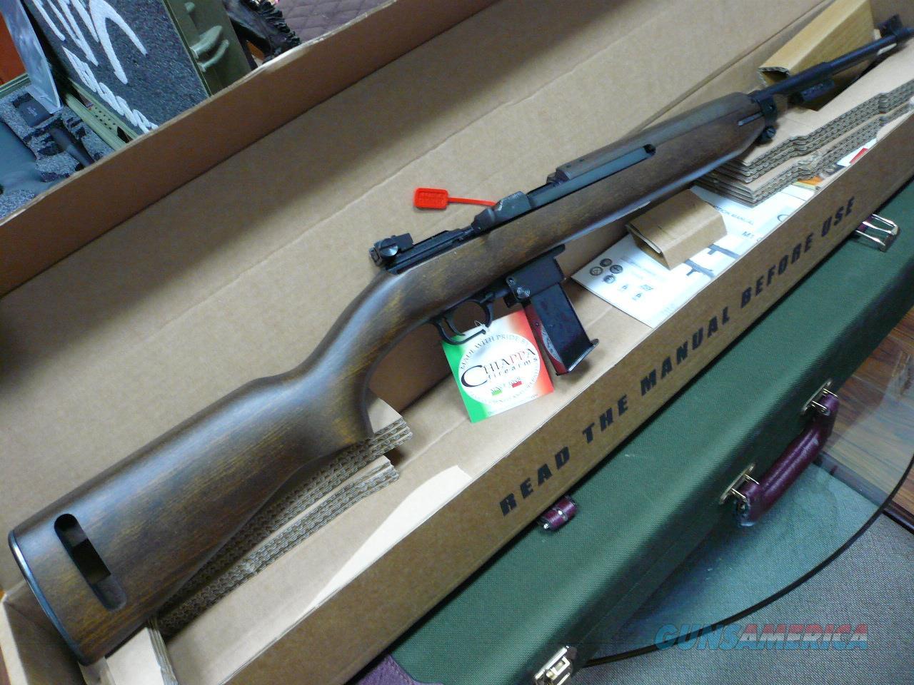 M1-9/WOOD STOCK  9mm NIB  Guns > Rifles > Chiappa / Armi Sport Rifles > Hunting Rifles