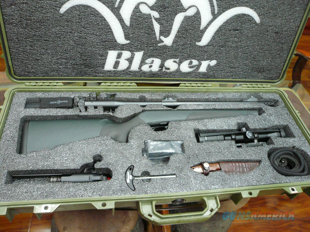 """REDUCED"" R8 Professional Safari in 375HH with Pro Package  Guns > Rifles > Blaser Rifles/Combos/Drillings"