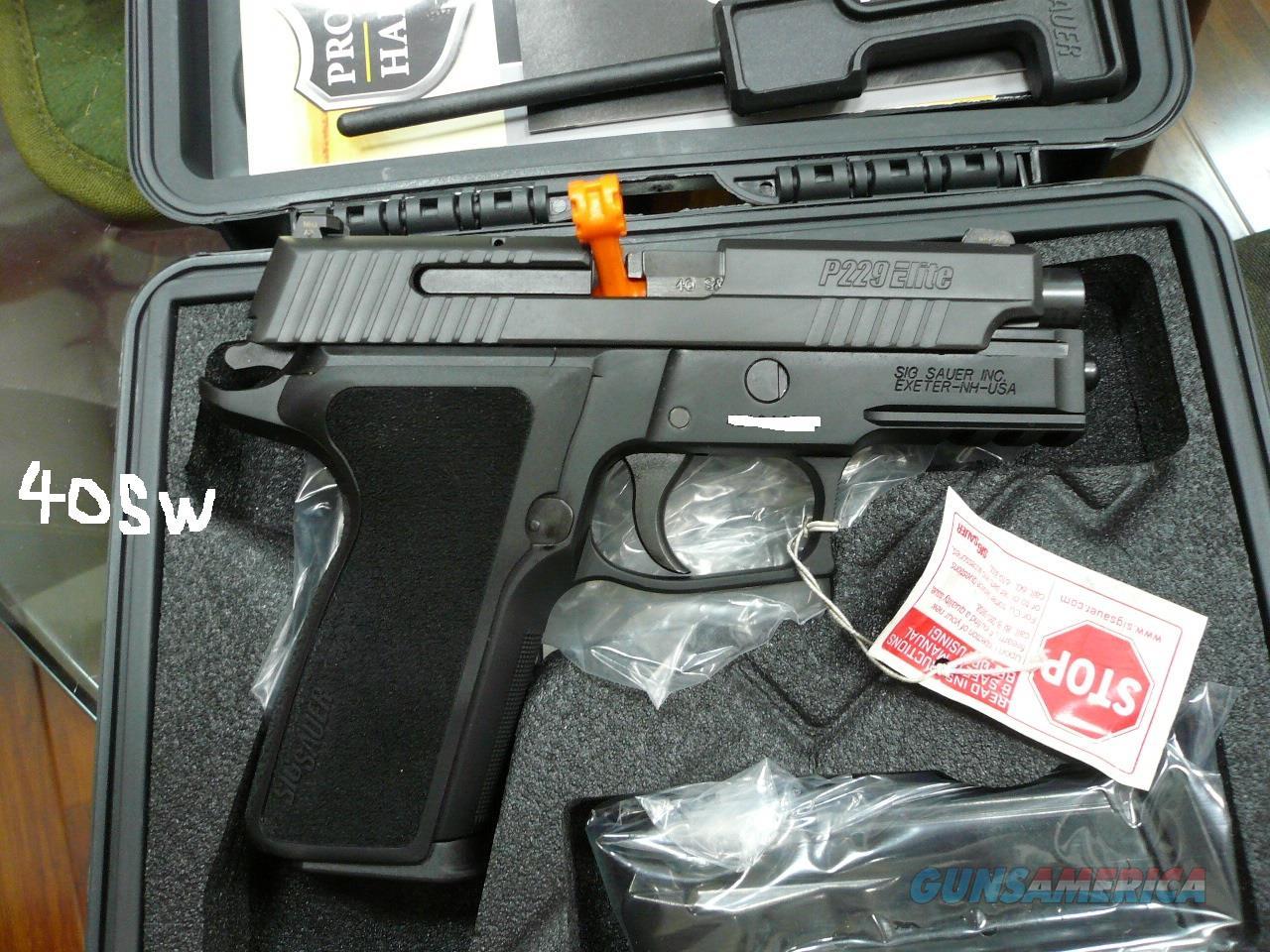 P229R-ELITE 40SW NIB  Guns > Pistols > Sig - Sauer/Sigarms Pistols > P229