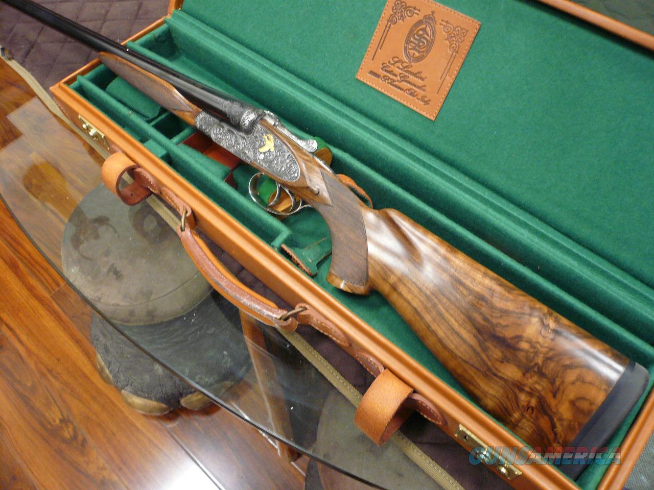 SANDRO LUCCHINI -BEST SIDELOCK MODEL 12GA  Guns > Shotguns > L Misc Shotguns