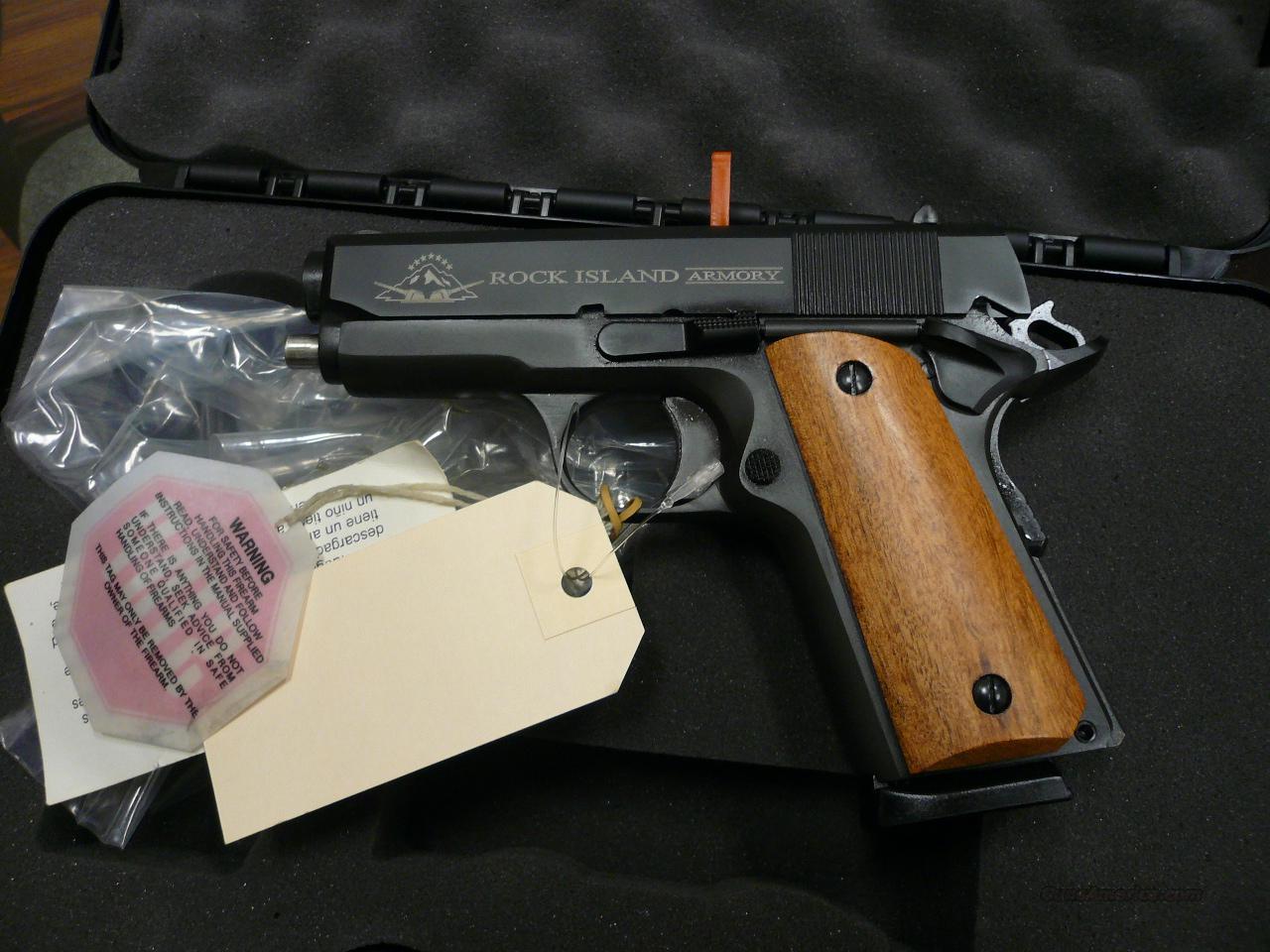 RIA Model-M1911A1 Compact 45 Acp  Guns > Pistols > Rock Island Armory Pistols