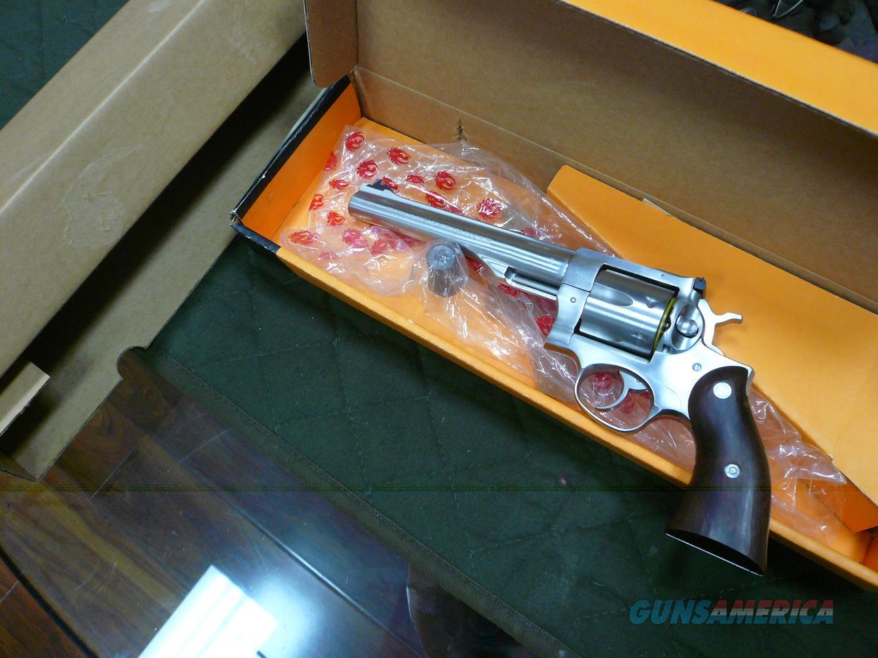 "REDHAWK (1984 Vintage,yellow box) 44MAG 7.5""  NIB (CA-PPT-OK)  Guns > Pistols > Ruger Double Action Revolver > Redhawk Type"