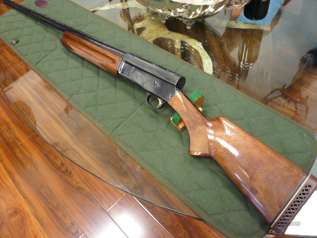 Auto-5 magnum twelve made in Japan-1984  Guns > Shotguns > Browning Shotguns > Autoloaders > Hunting
