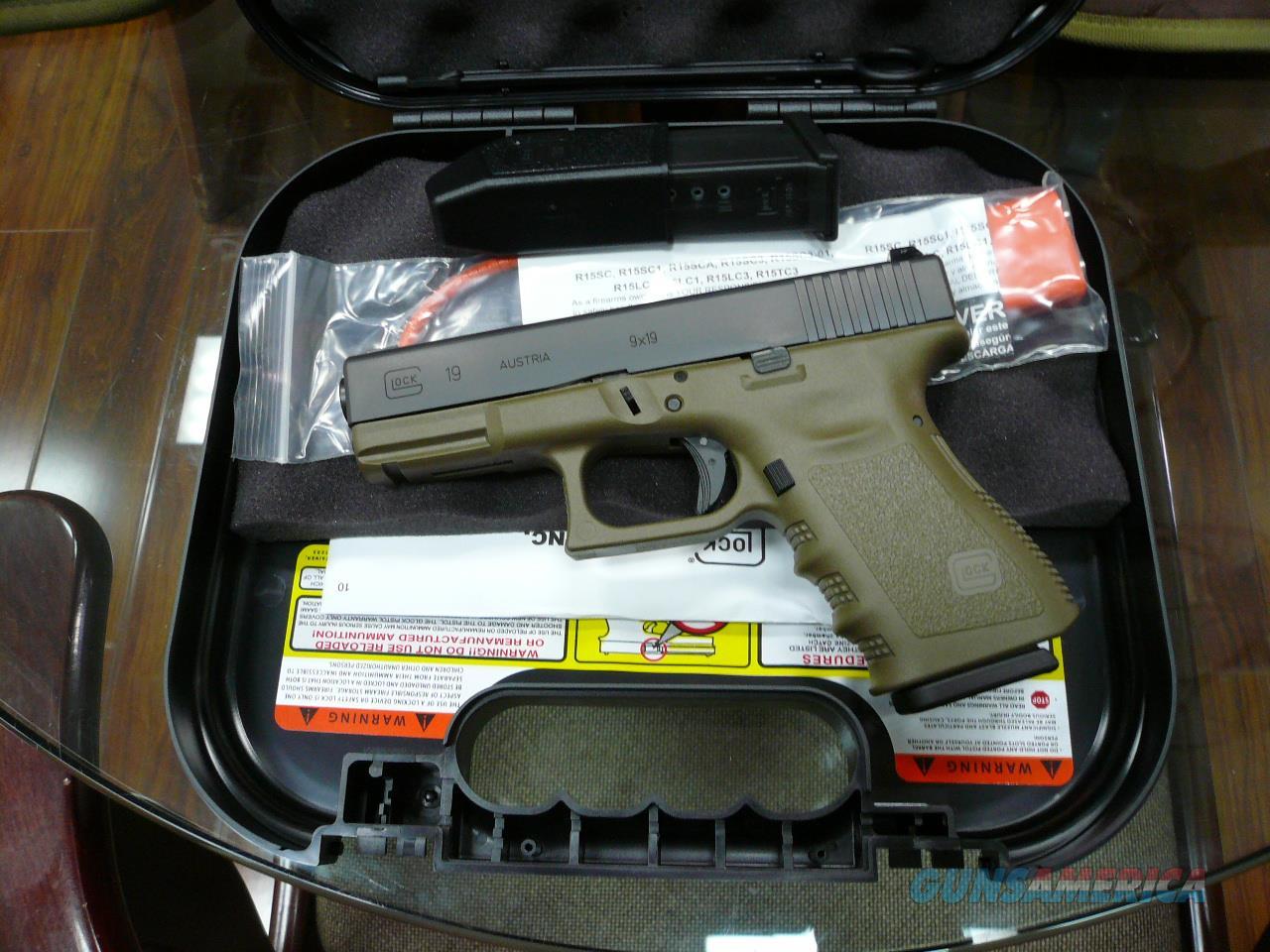 19-OD,NIB  Guns > Pistols > Glock Pistols > 19