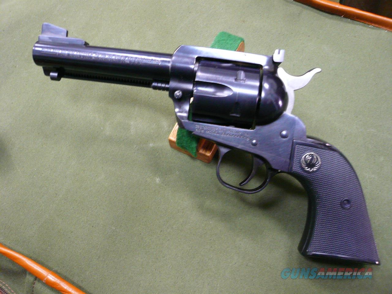50th YEAR BLACKHAWK (1955-2005) New Model Black 357 Mag  Guns > Pistols > Ruger Single Action Revolvers > Cowboy Action