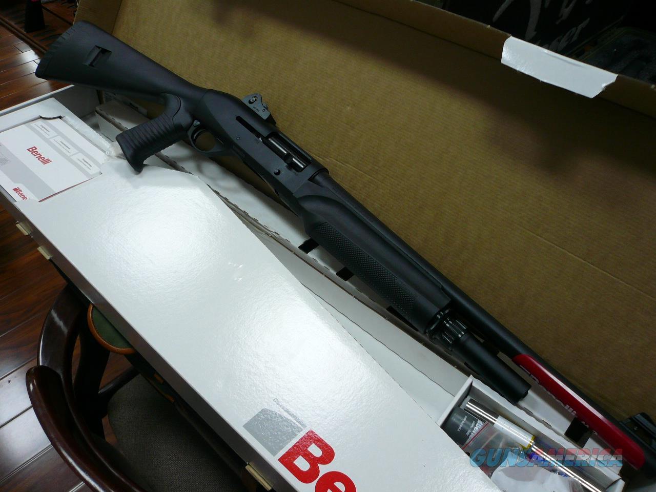M2-TACTICAL(GOHST RING SIGHTS) 12Ga. NIB  Guns > Shotguns > Benelli Shotguns > Tactical