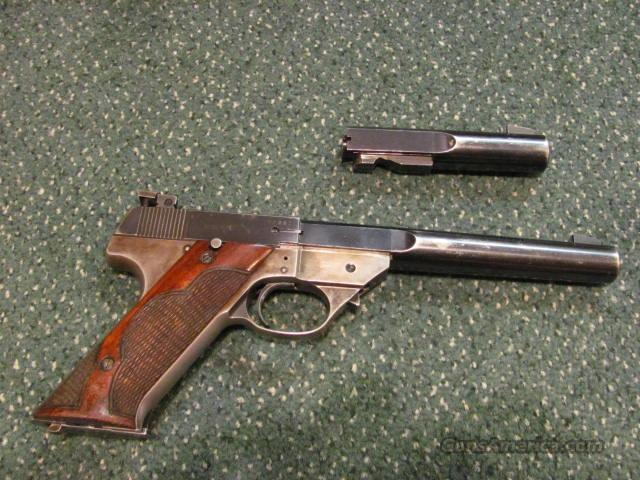 HI-STANDARD Model GE w/ both barrels  Guns > Pistols > High Standard Pistols
