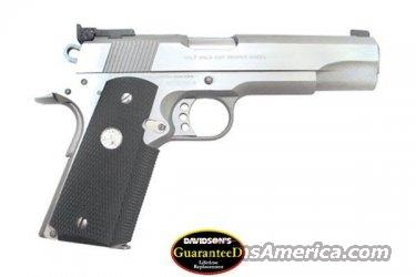 Colt O5070X 1911 Gold Cup Pistol .45 ACP Stainless 100 Year Medallion  Guns > Pistols > Colt Automatic Pistols (1911 & Var)