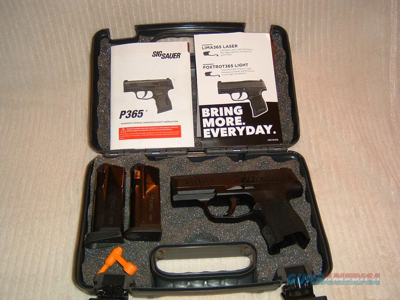 sig sauer p365-9-BXR3  Guns > Pistols > Sig - Sauer/Sigarms Pistols > P365