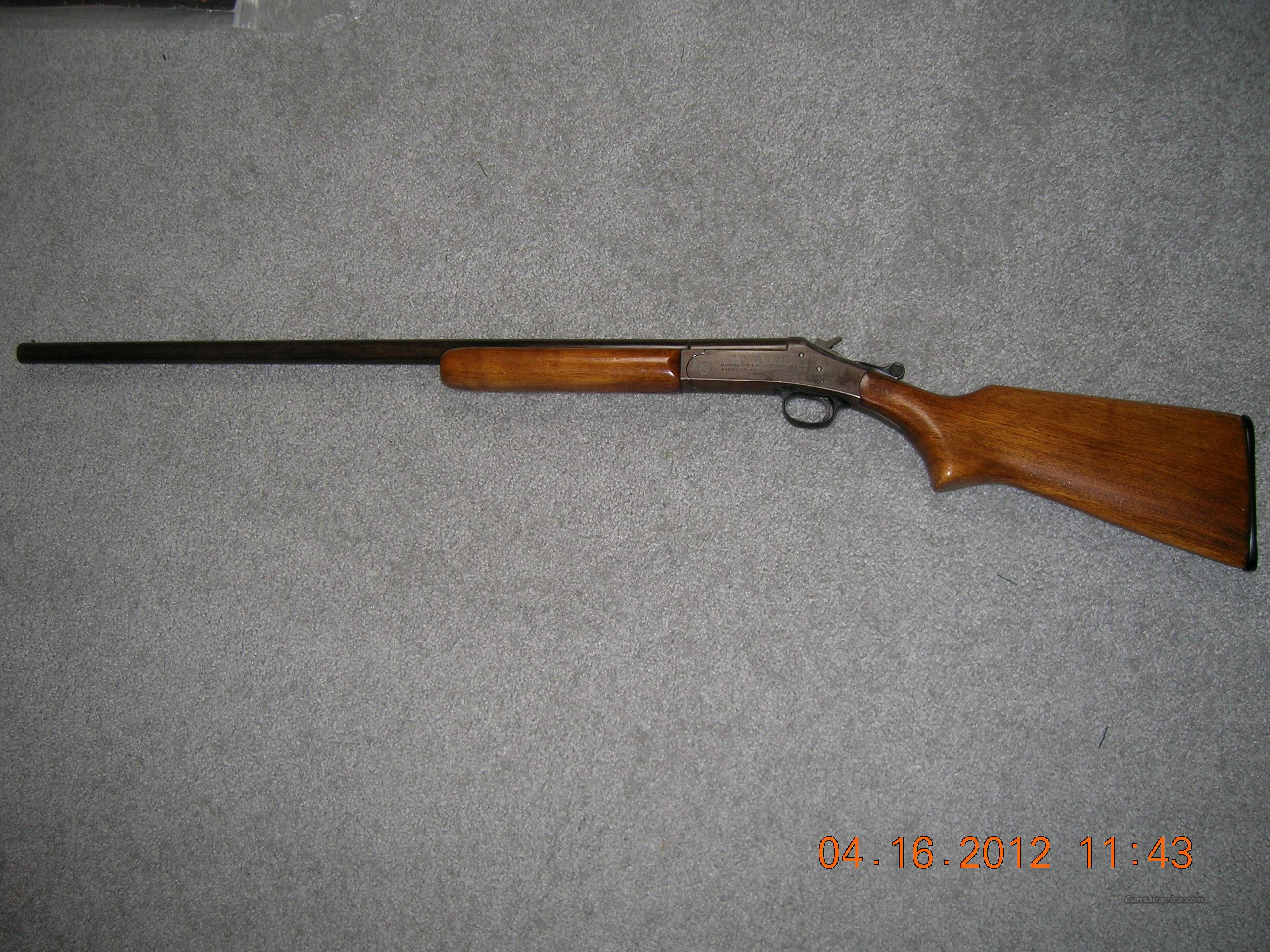 H&R TOPPER M48 16 GA SHOTGUN  Guns > Shotguns > Harrington & Richardson Shotguns