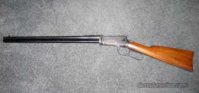 Winchester 94 25-35 WCF Saddle Ring  Guns > Rifles > Winchester Rifles - Modern Lever > Model 94 > Pre-64