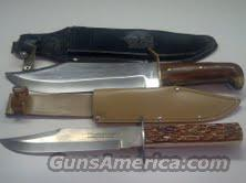 TRAMONTINA CARBON STEEL/PAKISTAN DAMASCUS STEEL  Non-Guns > Knives/Swords > Knives > Fixed Blade > Imported