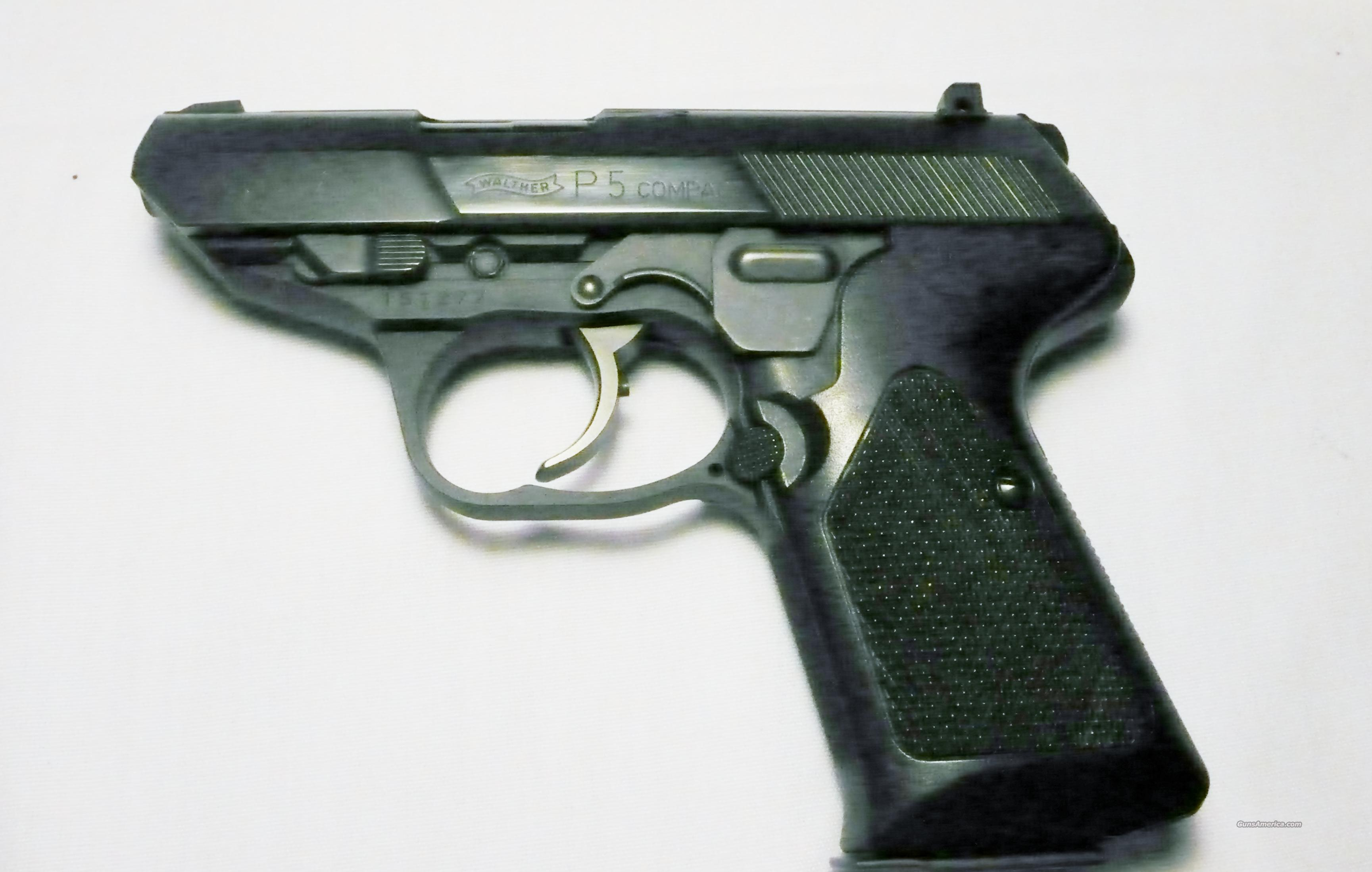 WALTHER P5 COMPACT  Guns > Pistols > Walther Pistols > Post WWII > P5