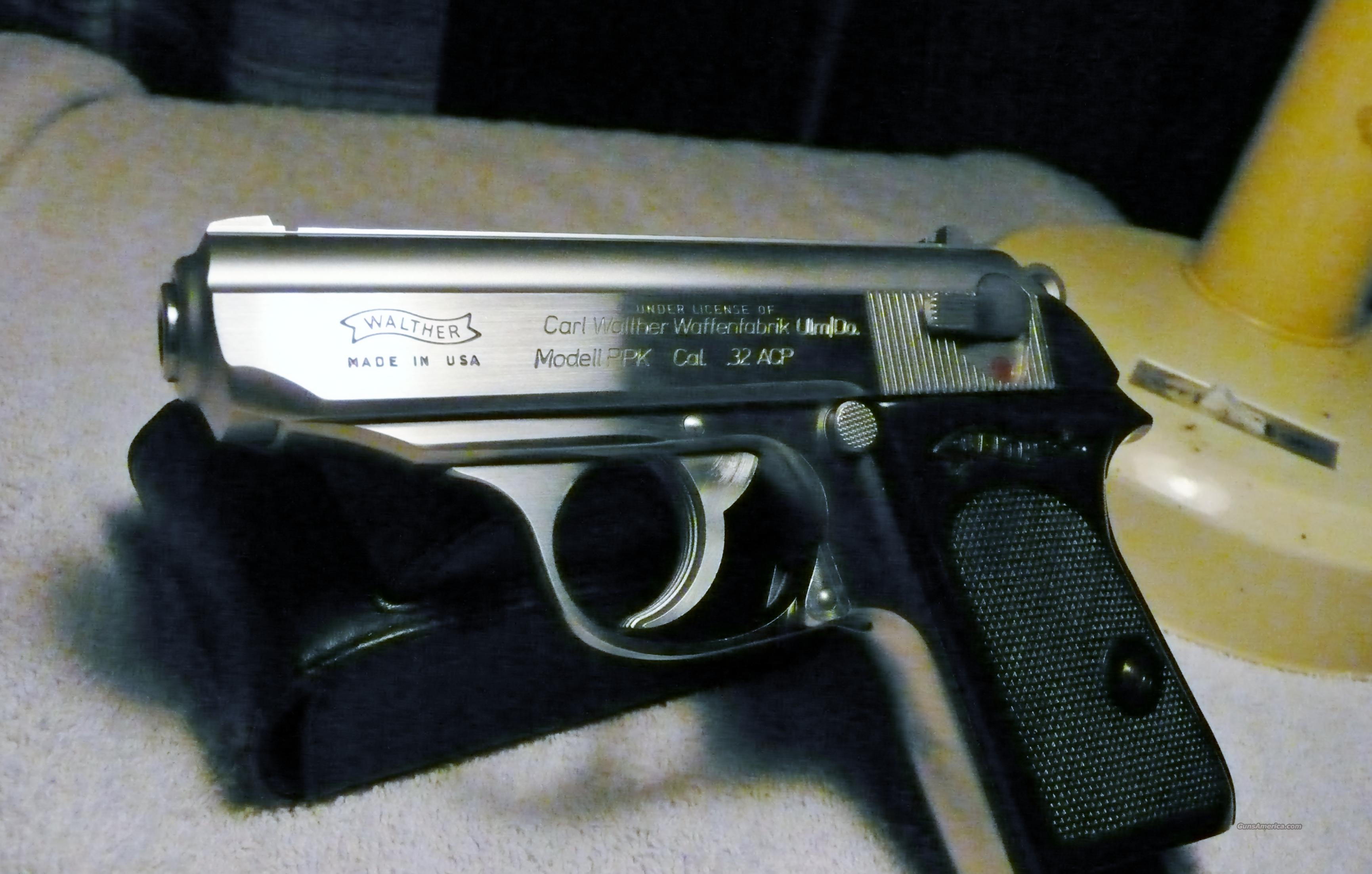 Walther PPK 32acp  Guns > Pistols > Walther Pistols > Post WWII > PPK Series