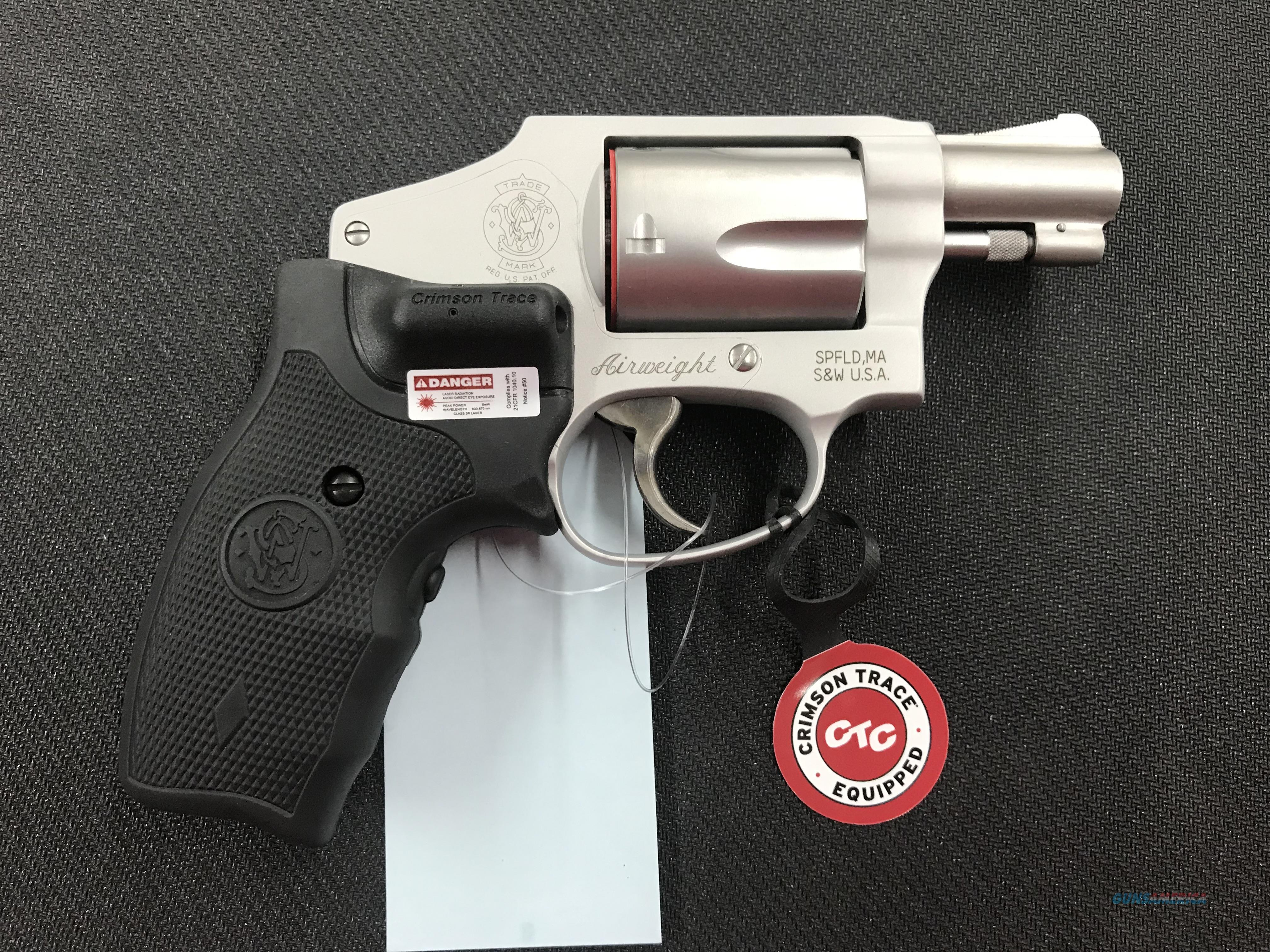 Smith and Wesson 642 with Crimson Trace Laser  Guns > Pistols > Smith & Wesson Revolvers > Small Frame ( J )