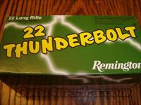 Remington Thunderbolt 22 Long Rifle Ammo  Non-Guns > Ammunition