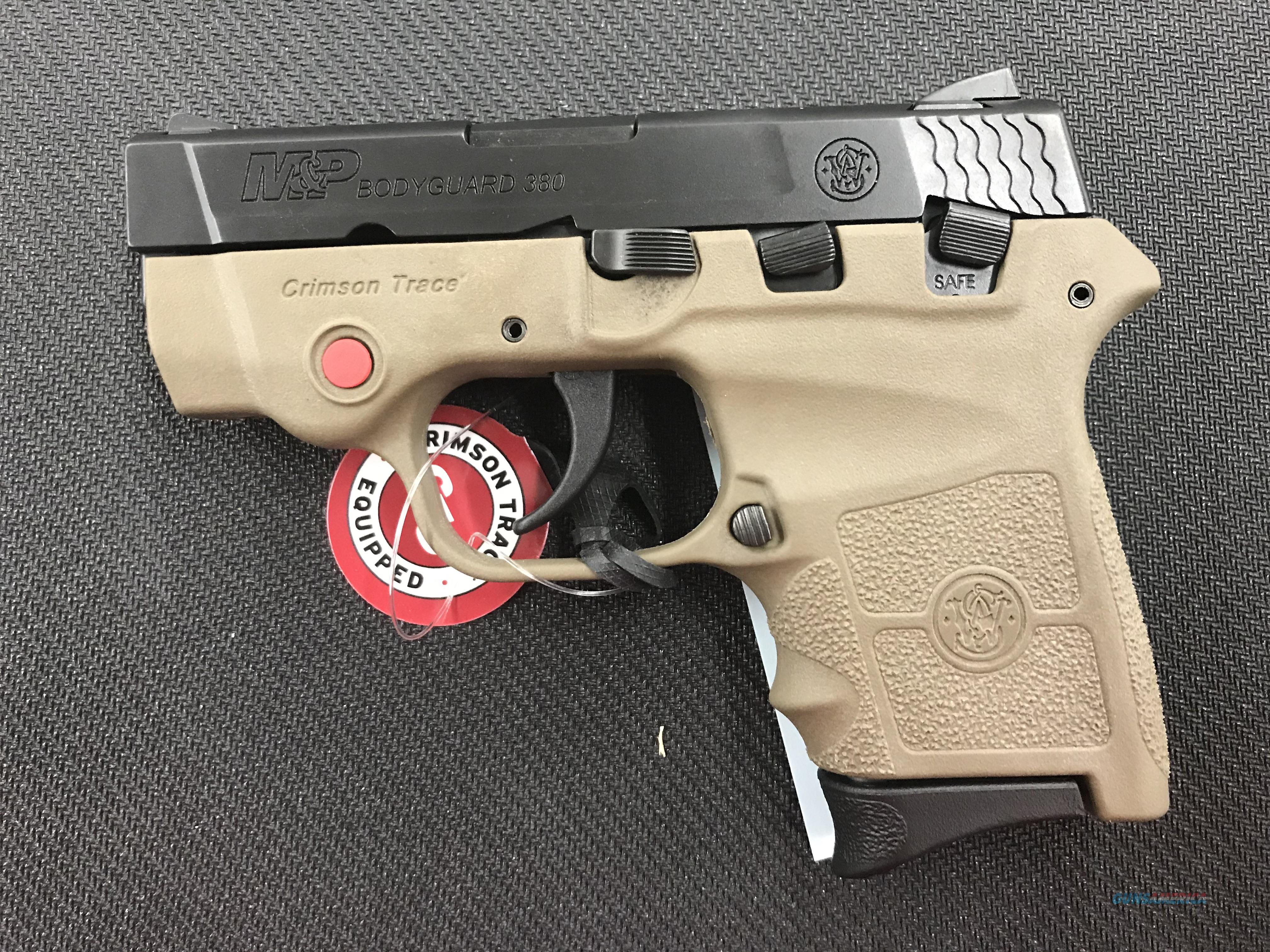 Smith and Wesson Bodyguard 380 with CT Laser  Guns > Pistols > Smith & Wesson Pistols - Autos > Polymer Frame
