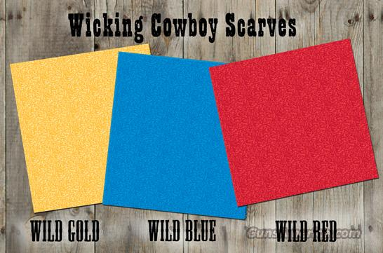 Cowboy Cooler Scarf Gold Wildflower  Non-Guns > Cowboy Action/Western