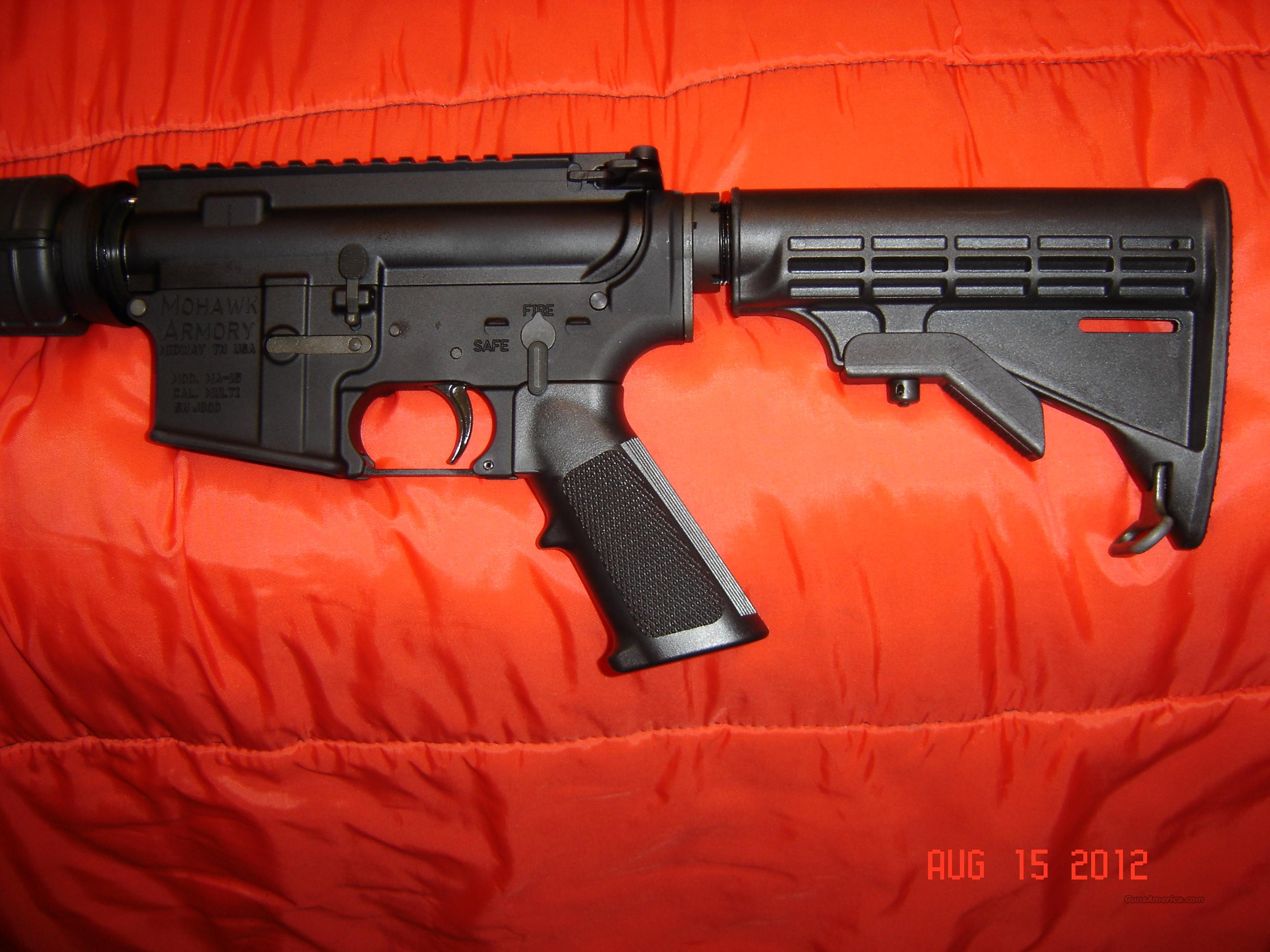 AR15 from Mohawk Armory, Heavy Barrel Flat Top  Guns > Rifles > AR-15 Rifles - Small Manufacturers > Complete Rifle