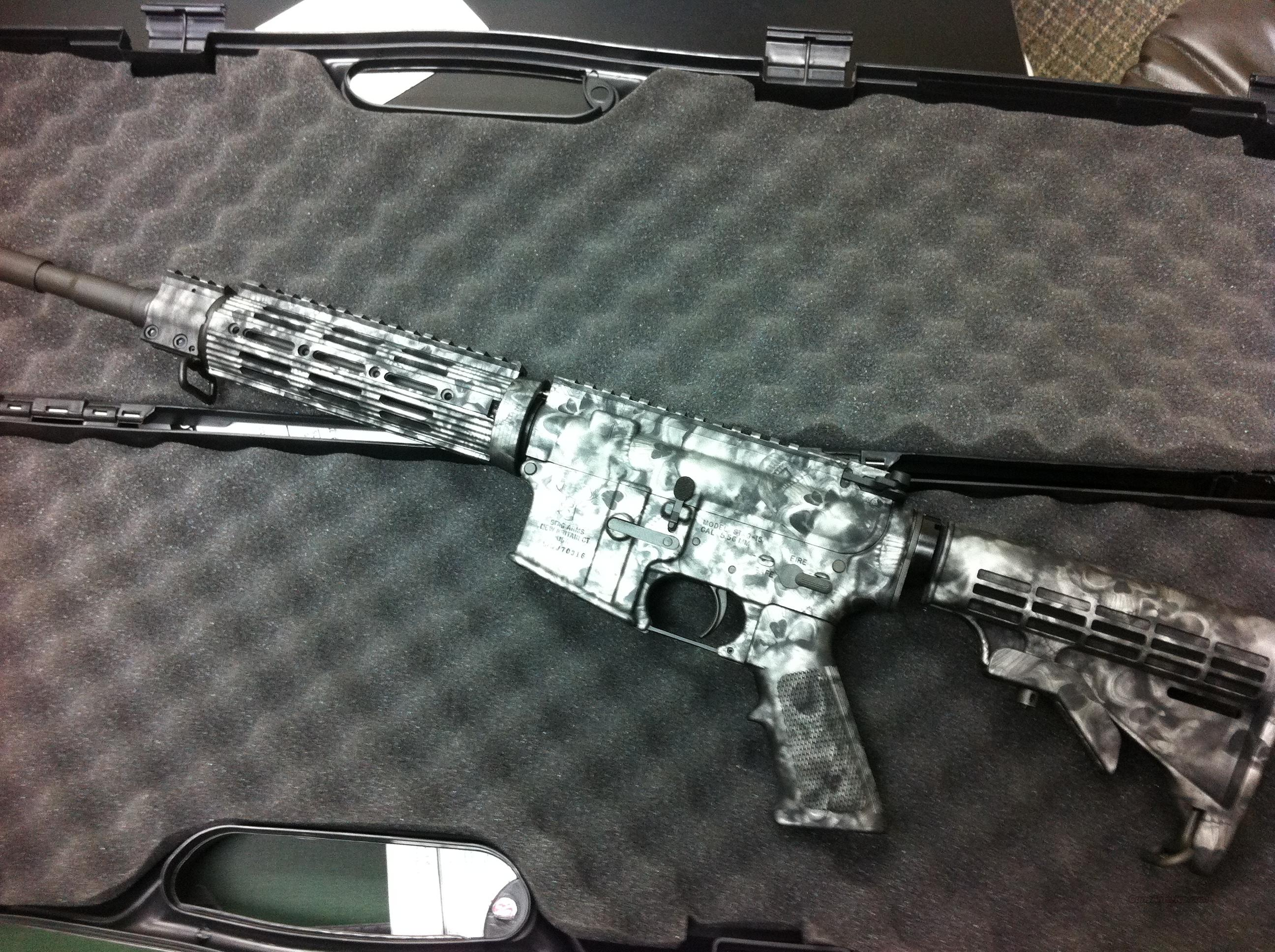Stag Arms Model 3 Rifle Skull Camo paint  Guns > Rifles > Stag Arms > Complete Rifles