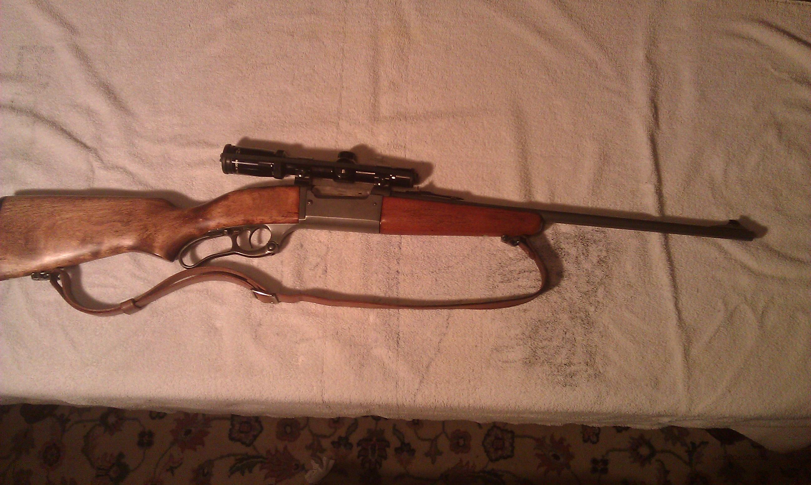 Savage Model 99 E w/Burris Scope  Guns > Rifles > Savage Rifles > Model 95/99 Family