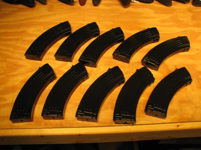10 NEW Steel AK47 MAGAZINES 30rd Mags AK-47 Mag  Non-Guns > Magazines & Clips > Rifle Magazines > AK Family