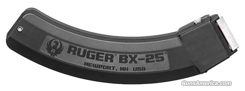 RUGER 10/22 Magazine BX25 22lr 25rd Mag NEW BX-25  Non-Guns > Magazines & Clips > Rifle Magazines > 10/22