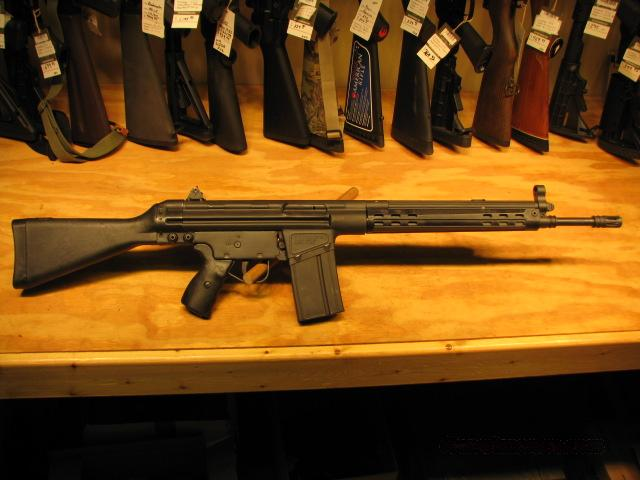 Cetme Rifle 308 Black Stock, 20rd mag NEW  Guns > Rifles > CETME Rifles
