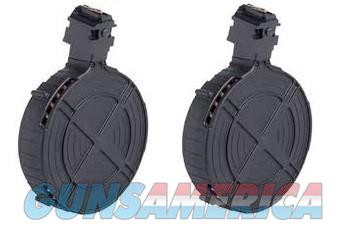 2 Ruger 10/22 Drum Magazines 22lr 110rd GSG MAG  Non-Guns > Magazines & Clips > Rifle Magazines > 10/22