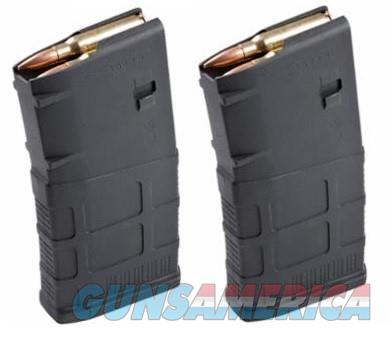 2 MAGPUL PMAG AR-10 308 Magazines 20rd P-MAG Black  Non-Guns > Magazines & Clips > Rifle Magazines > AR-15 Type