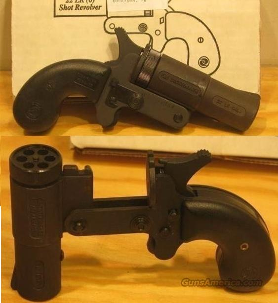 NEW Leinad 6 Shot Mini Pocket Revolver 22lr USA  Guns > Pistols > Cobray Pistols