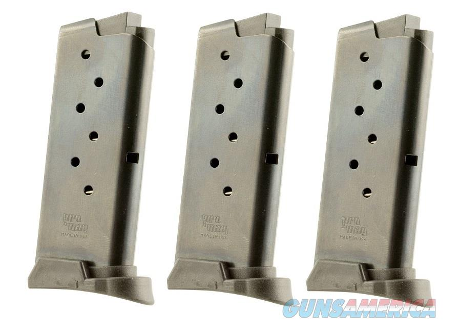 3 Sig Sauer P290 Magazines 9mm 6rd Steel PRO MAG  Non-Guns > Magazines & Clips > Pistol Magazines > Sig