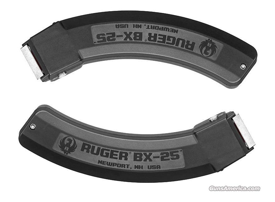 Two RUGER 10/22 Magazines BX25 22lr 25rd Mag NEW 2  Non-Guns > Magazines & Clips > Rifle Magazines > 10/22