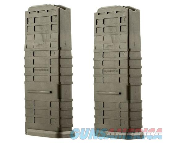 2 Ruger Scout Magazines 308 20rd Black New PRO MAG  Non-Guns > Magazines & Clips > Rifle Magazines > Other