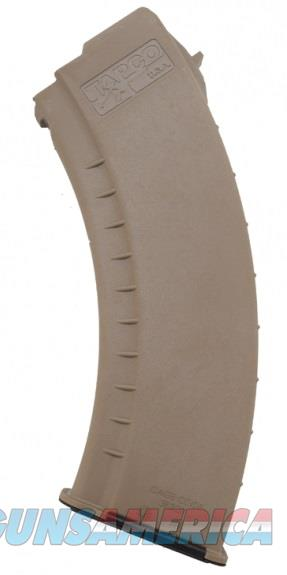 AK47 Magazine FDE Smooth 7.62X39 TAPCO AK-47 MAG 30rd  Non-Guns > Magazines & Clips > Rifle Magazines > AK Family