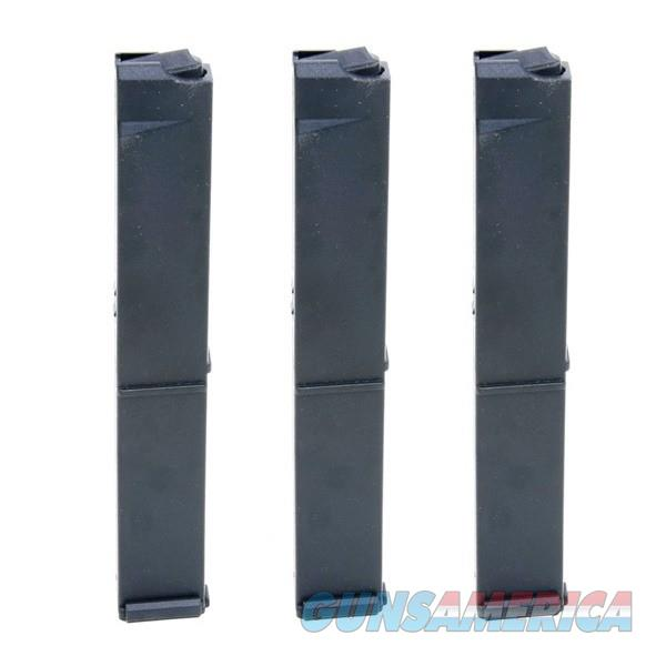 3 Cobray M11 9mm 32 Rd Magazines Black Poly Mag  Non-Guns > Magazines & Clips > Pistol Magazines > Other