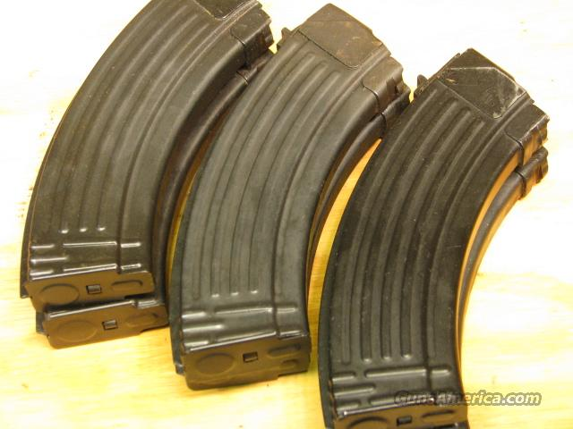 Military AK47 Mag 30rd magazine steel 5 AK mags  Non-Guns > Magazines & Clips > Rifle Magazines > AK Family