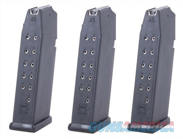 3 Glock 21 Magazines 13rd 45 ACP Factory New Mag  Non-Guns > Magazines & Clips > Pistol Magazines > Glock