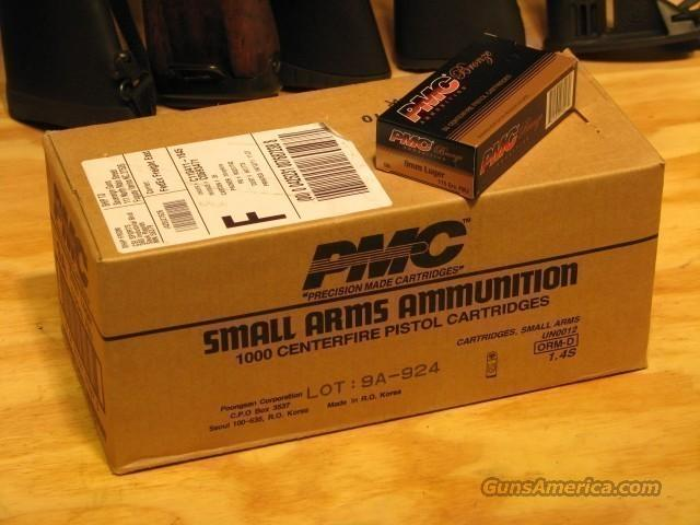 PMC Bronze 9mm AMMO 1000rd Case Brass FMJ 115gr 9A  Non-Guns > Ammunition